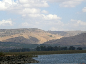 Karen-Galilee with Golan Hills